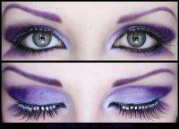 Идеи макияжа: Фиолетовая фантазия