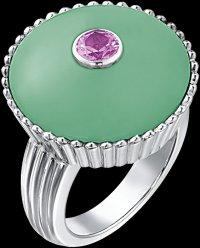 Коктейльные кольца Piaget:  Вечеринка в саду