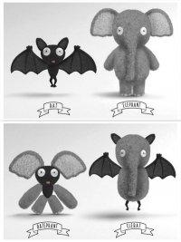 Модульные игрушки Chimeras: набор юного доктора Франкенштейна