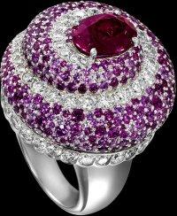 Garden Party от Piaget: кольцо с турмалином