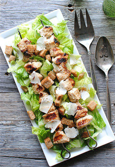 Маринуем курицу для салата цезарь