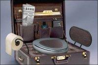 Этот безумный мир: чемодан-унитаз