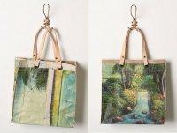 Оригинальная сумка с водопадом