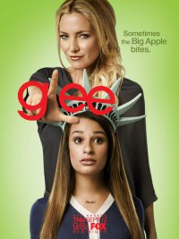 Постеры 4 сезона Glee: Лиа Мишель и Кейт Хадсон
