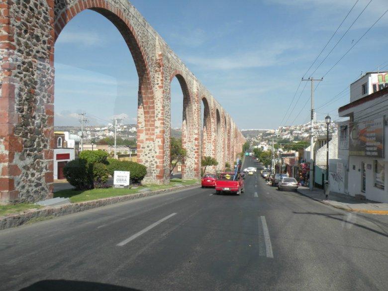 5 самых захватывающих акведуков: акведук в Сантьяго-де-Керетаро