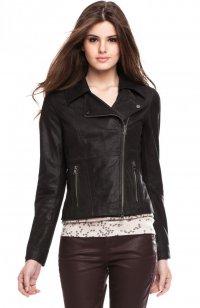 Байкерская кожаная куртка: стильно и модно