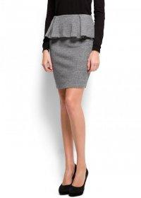 Юбка с баской для офиса - модный осенний тренд 2012