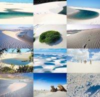 Белая пустыня в Бразилии