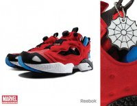 Кроссовки Reebok x Marvel: Spiderman