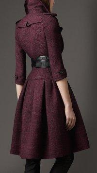 Элегантное пальто от Burberry