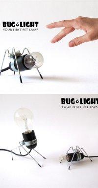 Настольные лампы-жучки от Omer Inbar