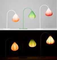 Светильник Bloom lamp: нежная лампа-бутон