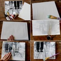 Перенос фото на ткань