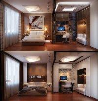 Идеи интерьера спальни для путешественников