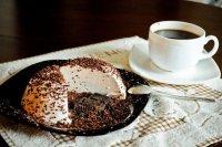 Творожное суфле с горьким шоколадом