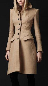 Модное осеннее пальто 2012 от Burberry