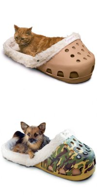 Кровати для кошек и собак в виде тапок