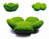 Free - диван-трансформер в виде цветка