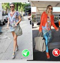 Модные ошибки: как не надо носить одежду с принтом