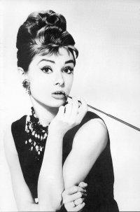Прическа как у Одри Хепберн в образе Холли
