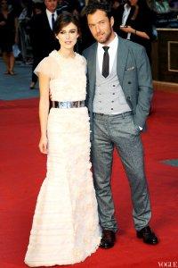 Кира Найтли и Джуд Лоу на мировой премьере фильма «Анна Каренина»