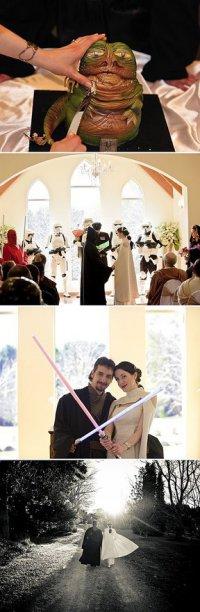 Свадьба в стиле «Звездных войн»