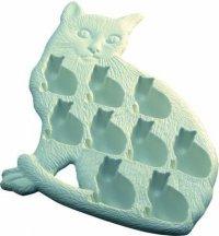Формочки для льда в виде котиков