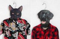 Плечики для одежды в виде животных
