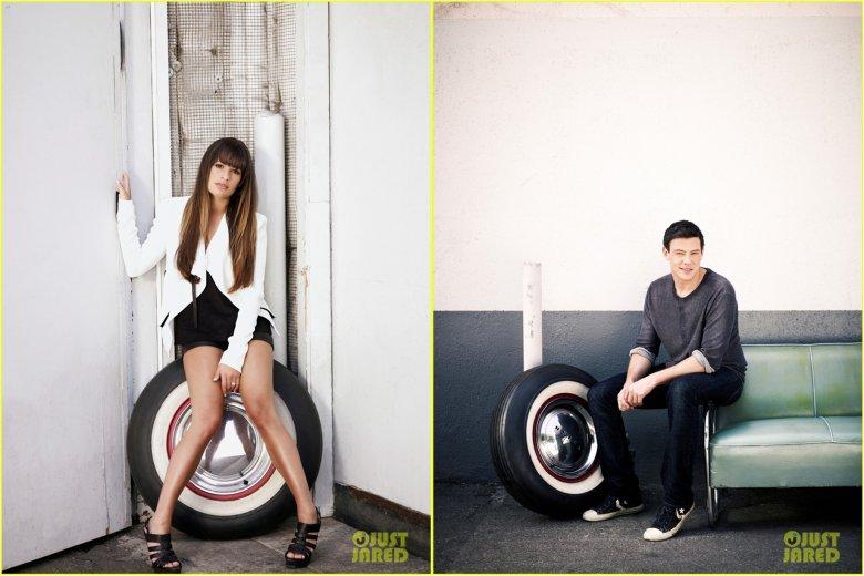 Звезды Glee в кампании Faces of Fox: сладкая парочка
