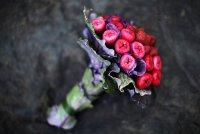 Букет невесты из овощей: клубника