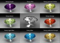 Фантазийные бриллианты