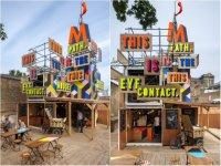 Movement Pop Up Cafe - временное олимпийское кафе в Лондоне