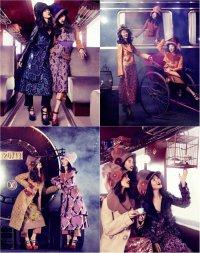 Фотосессия «Восточный экспресс» для осенне-зимнего выпуска Vogue China Collections 2012