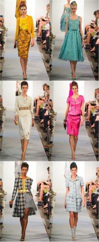 Неделя моды в Нью-Йорке: коллекция весна-лето 2013 от Oscar de la Renta