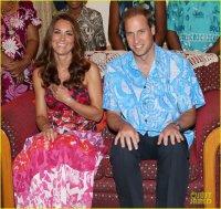 Герцогиня Кейт и принц Уильям нанесли визит генерал-губернатору Соломоновых Островов