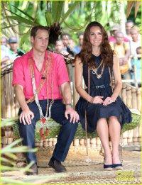 Принц Уильям и герцогиня Кейт на острове Таванипупу