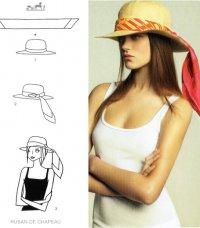 Как завязывать шарф: шарф на шялпке