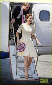 Принц Уильям и герцогиня Кейт прибыли на остров Гуадалканал