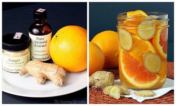 Натуральные ароматические композиции своими руками: апельсин, имбирь и миндаль