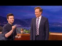 Крис Колфер на телешоу «Conan»