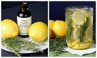 Натуральные ароматические композиции своими руками: лимон, розмарин, ваниль