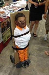 Костюм для ребенка на Хэллоуин: сумасшедший мальчик