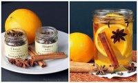 Натуральные ароматические композиции своими руками: апельсин, корица и гвоздика