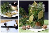 Натуральные ароматические композиции своими руками: веточки ели, лавр и мускатный орех