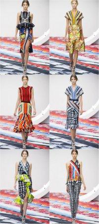 Лондонская неделя моды: Peter Pilotto весна-лето 2013