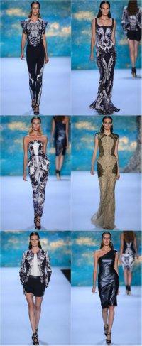 Неделя моды в Нью-Йорке: коллекция Monique Lhuillier весна-лето 2013