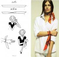Как завязывать шарф: твилли