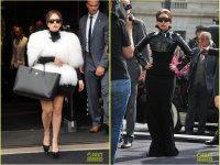 Леди Гага на запуске парфюма Fame в Париже