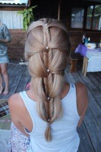 Идея для красивой косы: необычный «рыбий хвост»