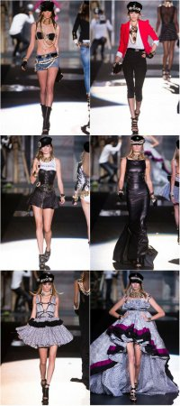 Неделя моды в Милане: коллекция DSquared2 весна-лето 2012
